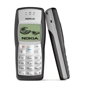 Nokia 1100 Keypad Mobile Phone Black Pre-Owned/Used Mobile