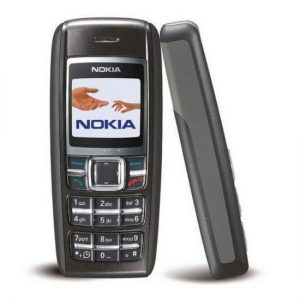 Nokia 1600 Keypad Mobile Refurbished Black