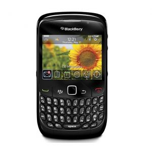 Blackberry 8520 Curve Qwerty Keypad Mobile Phone  Refurbished