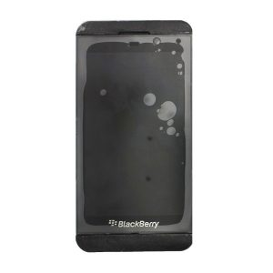 Blackberry Z10 LCD Display and Touch Screen Replacement Digitizer Assembly with Frame (Black) STL100-1