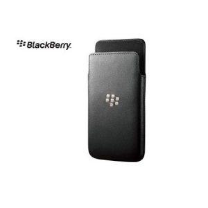 Blackberry Z10 Leather Case - Black