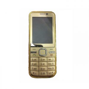 Nokia C5-00 Gold Edition Mobile Refurbished