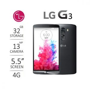 LG G3 - 32GB (3GB Ram, Black) Pre-owned/ Used Android Smartphone
