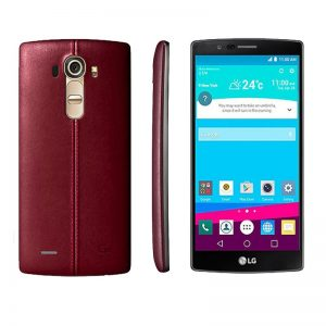 LG G4 H-815 (Genuine Leather Red 32 GB) (3 GB RAM Hexa Core) Refurbished