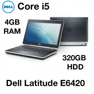 Refurbished Dell Latitude E6420 14-inch Laptop Intel Core i5 2nd Gen 320GB 4GB