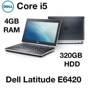 Refurbished Dell Latitude E6420 14-inch Laptop Intel Core i5 2nd Gen 320GB 4GB