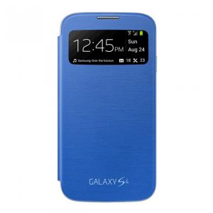 Samsung Galaxy S4 Sview Flip Cover - i545 - Blue