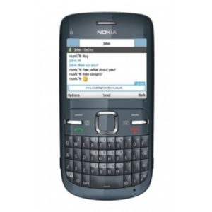 Nokia C3-00 Qwerty Keypad Phone (Black) Refurbished