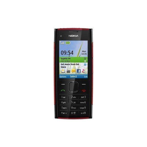 Nokia X2-00 Black Keypad Mobile Refurbished