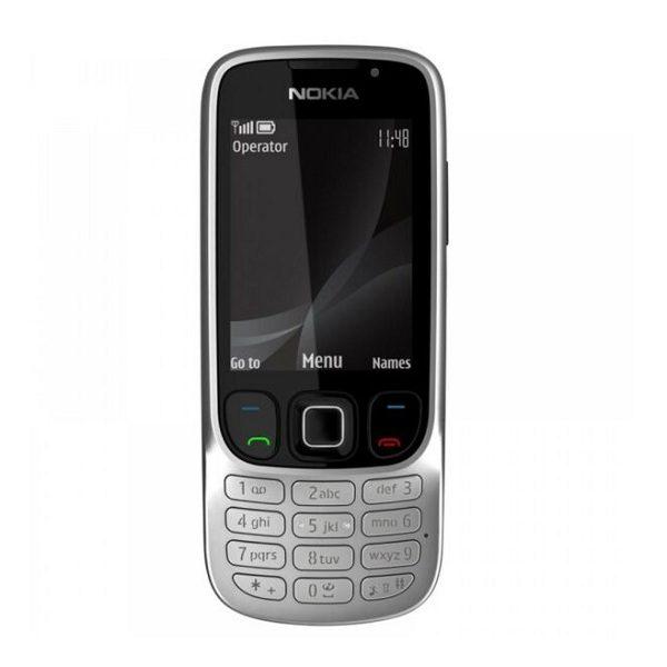 Nokia 6303c Steel Keypad Phone Refurbished