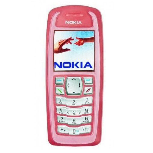 Nokia 3100 Non Camera Phone Refurbished - Pink
