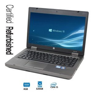 Refurbished HP Probook 6460B Notebook PC - Intel I5 2nd Gan 4GB 320GB 14.0inch