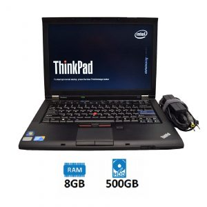 Refurbished Lenovo Thinkpad T410 Core-i5 1st Gen Laptop 8GB Ram, 500GB HDD
