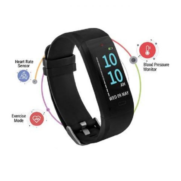 GOQii Health Band | Health Box | BLACK | Regular Size