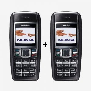 Refurbished Nokia 1600 Mobile Combo Pack of 2 Keypad Phone Brand: Nokia Condition: Refurbished Model: 1600 Screen Size: 1.4inch Ram: Other Capacity: 4MB Rear Camera: N/A Front Camera: N/A Processor: N/A Battery: 900 mAh Os: Other Sim: Single Sim GSM – Mini Sim Other Features: SMS,Loud Speaker Memory Slot: N/A Warranty: 3 Months For Software & 30 Days Hardware  Warranty In The Box: Handset, Battery, Campatible Charger Warranty Partner: EM RETAIL COMPANY Warranty Condition: No Warranty On Physical Damage & On Dead Mobiles.