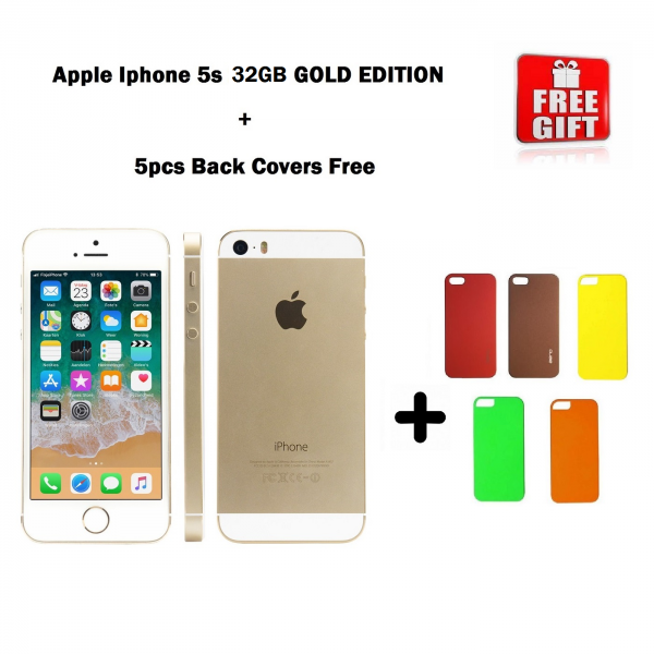 Combo Offer | Apple iPhone 5S 32GB ( GOLD EDITION ) Refurbished + 5pcs Of Back Covers