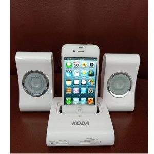 Combo Offer - Apple Iphone 4s 64GB Refurbished White + Koda Apple Music System