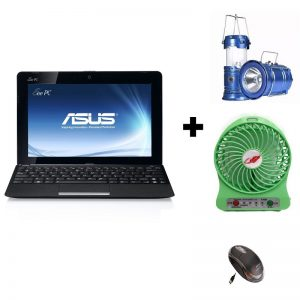 Combo Offer - Refurbished Asus 1015E Netbook (2GB-320GB) 10.1-inch Laptop + FREE GIFTS On zoneofdeals.com