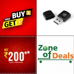 Buy 1 Get 2 FREE - ZODE®USB Card Reader